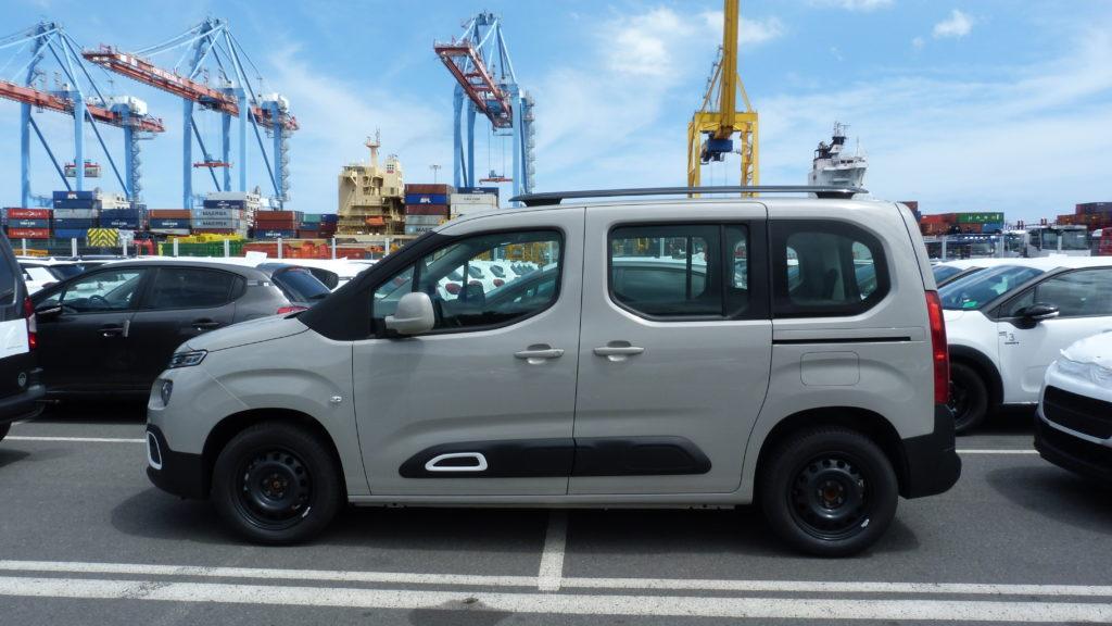 Citroën Berlingo livrée à la Réunion au meilleur tarif par e-runcars