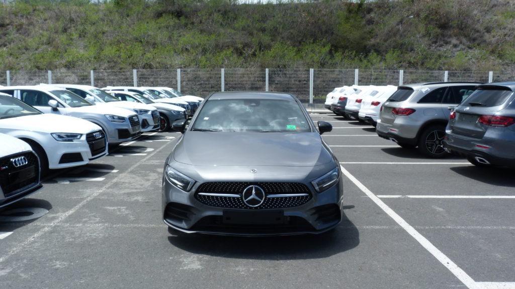 Mercedes Classe A 250 AMG LINE livrée à la Réunion par e-runcars